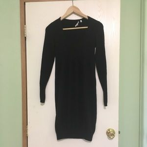 Vince Charcoal Cashmere Sweater Dress, size XS